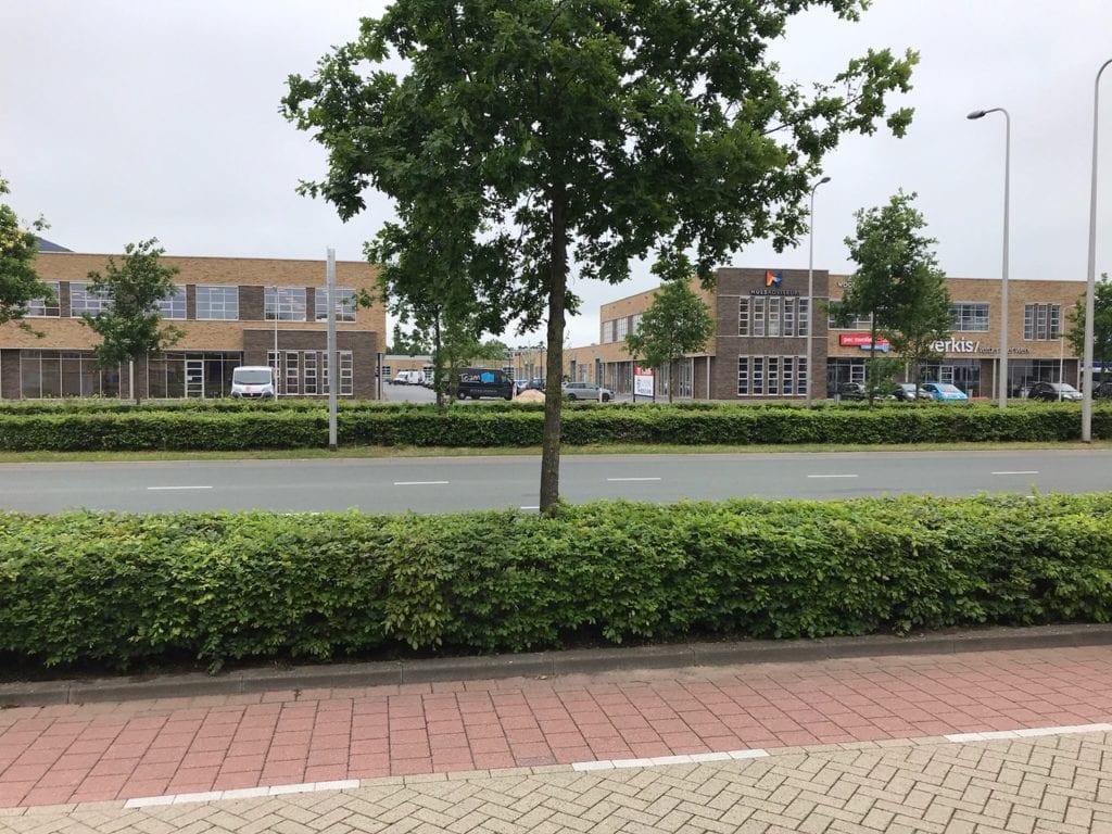 Bedrijfsruimte, Kantoorruimte Zwolle Ceintuurbaan 14G buitenkant