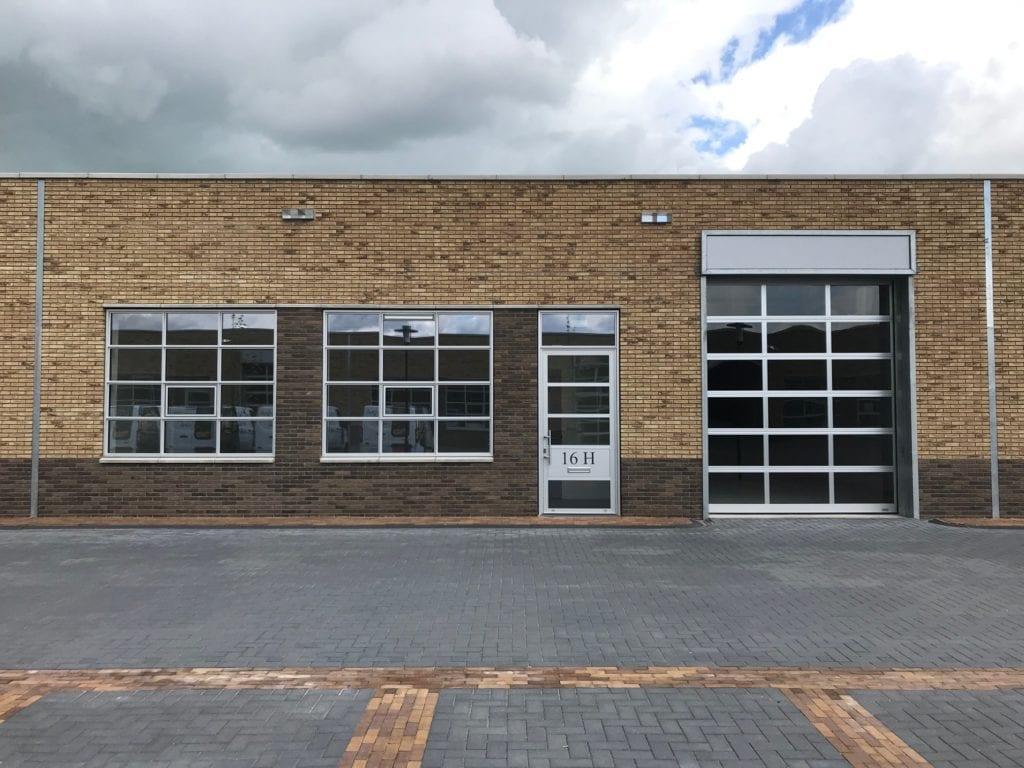 Bedrijfsruimte Kantoorruimte te huur Zwolle Ceintuurbaan 16H Buitenkant