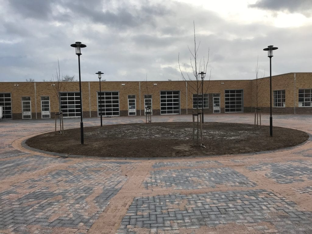 Bedrijfsruimte Kantoorruimte te huur Zwolle Ceintuurbaan 14V Buitenkant 1